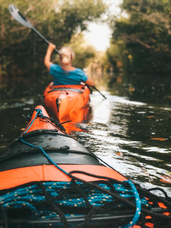 kajak - oplevelser på vandet