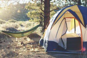 telttur i naturen