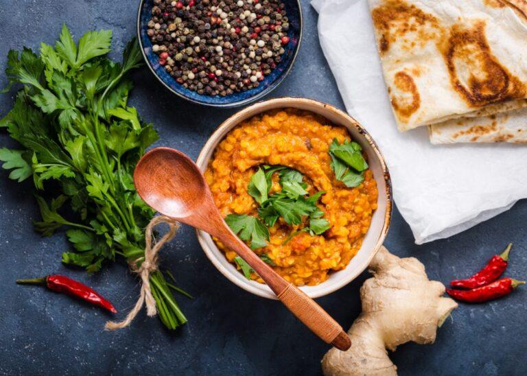 Indisk dhal med raita – Nem velsmagende vegetarisk ret